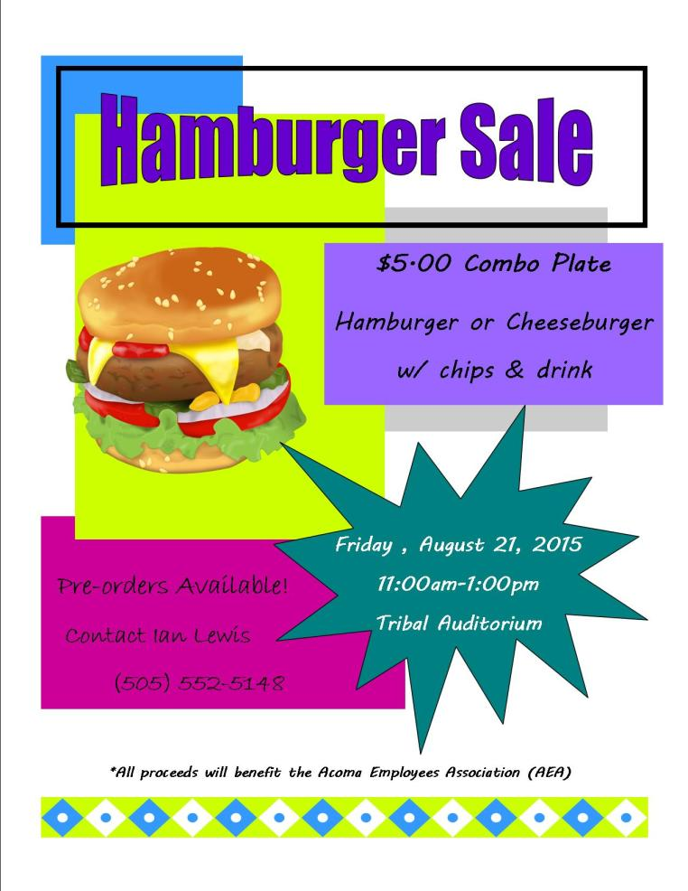 Hamburger Sale