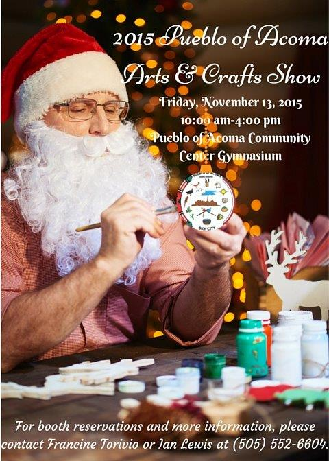 Arts and Crafts Show Flyer