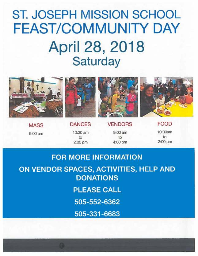 Feast Day Flyer 2018