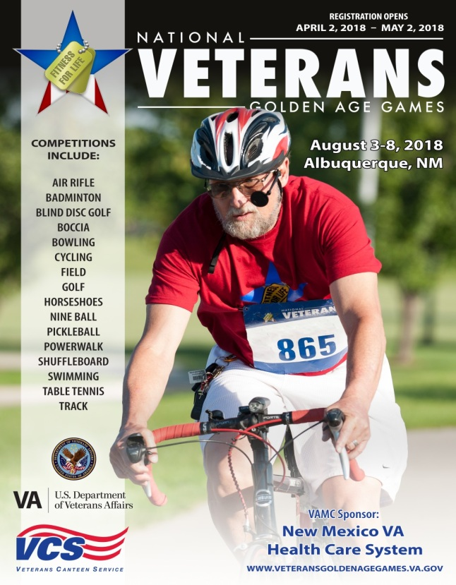 Nationl Veterans Golden Age Games