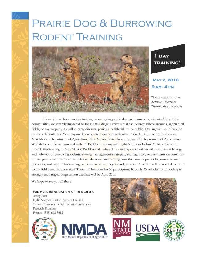 PD Training Flyer