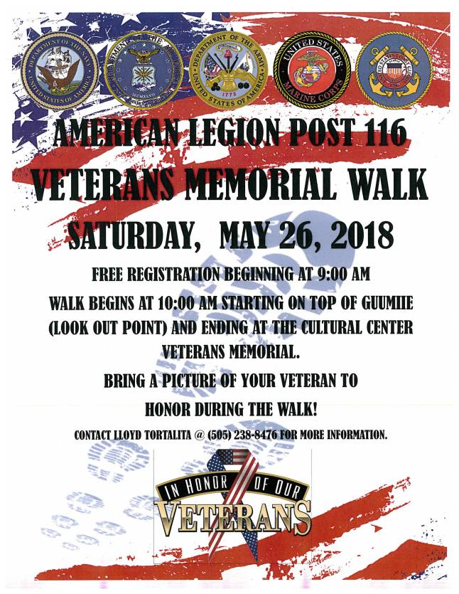 American Legion Post #116 - Memorial Walk