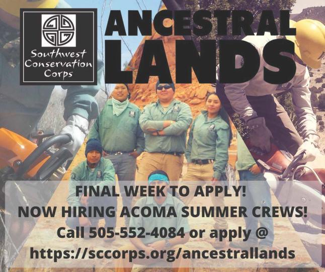 Ancestral Lands Summer Recuitment Poster (002)