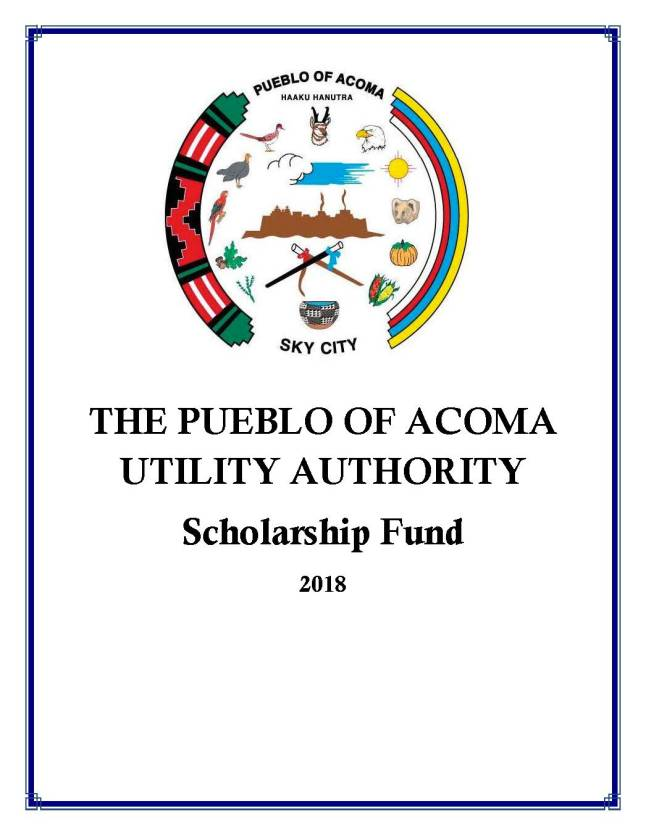 2018 PUEBLO OF ACOMA UTILITY AUTHORITY SCHOLARSHIP_Page_1