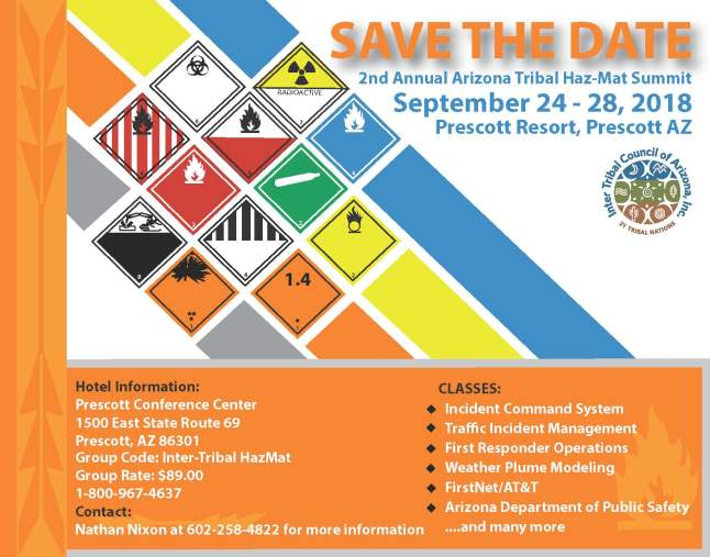 2nd Annual Arizona Tribal Haz-Mat summit