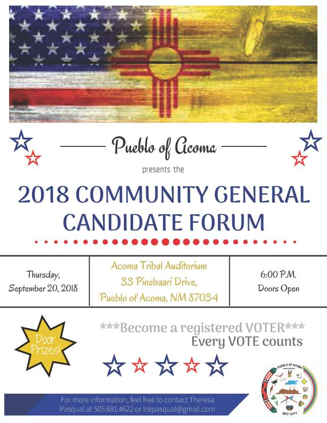 Candidate Forum 2018 Sep 20