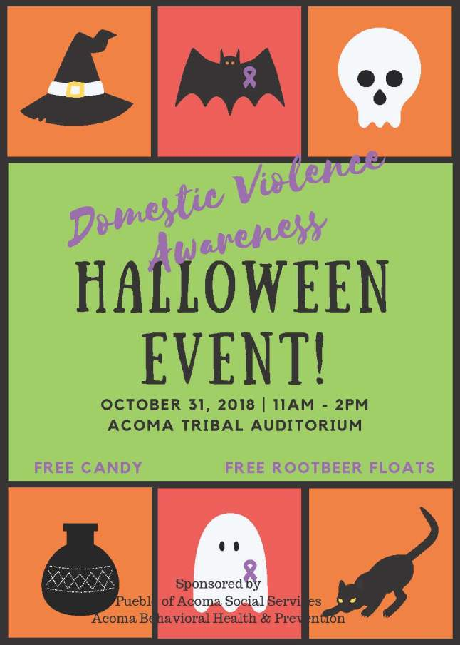 DV Awareness Halloween Event