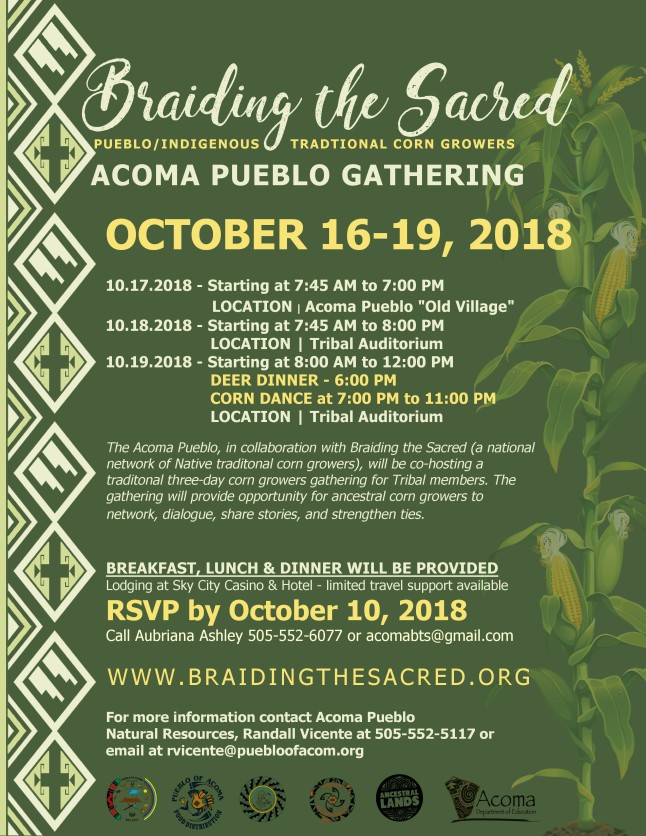 Braiding the Sacred 2018
