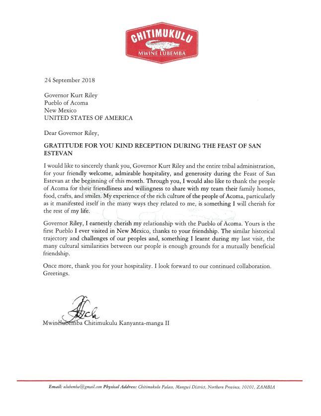 King Letter