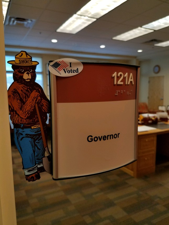 Governor Voted