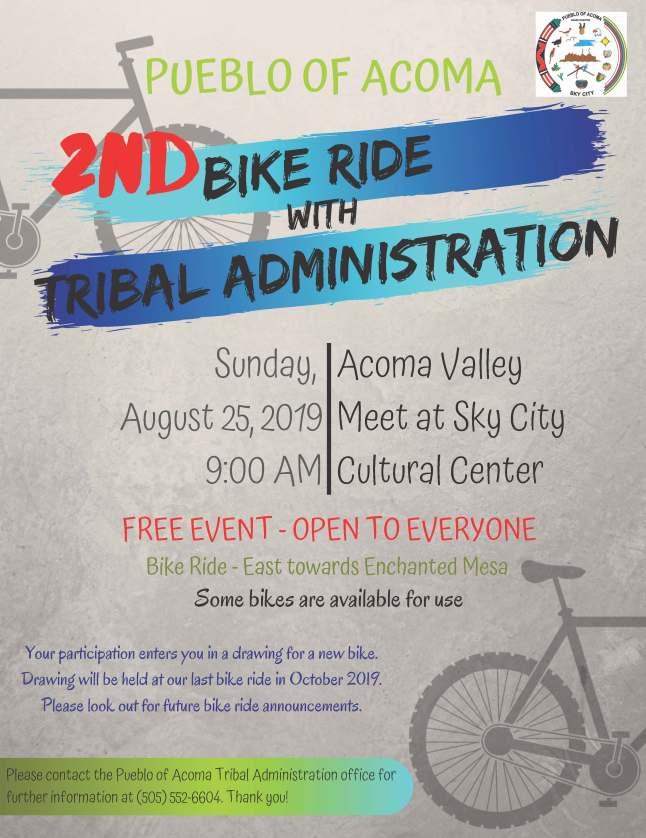 Bike Ride Haaku August 25 2019