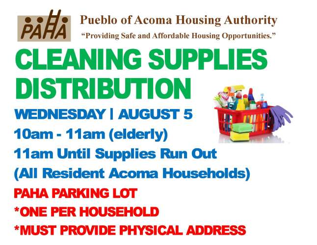 Cleaning Supply Distribution Flyer