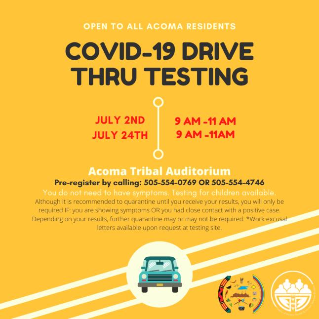 POA COVID Testing 24July2020