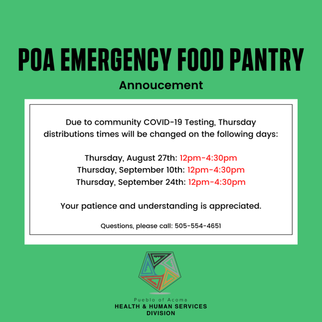 Food Pantry Annoucement(1)